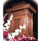 Wood Stain Tiered Pulpit